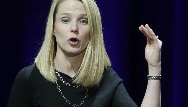 Yahoo Inc. CEO Marissa Mayer, already under fire on Wall Street for her inability to turn around the company and for the humiliating security lapses that came on her watch, hailed a new sale agreement with Verizon.