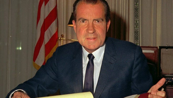 Columnist Joe Phalon thinks you would have to go back to Richard Nixon to find a political force of nature similar to Donald Trump.