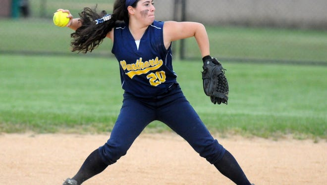 Sophomore Juliette Davis and the Pequannock softball team are off to an 11-2 start and sit atop the NJAC-Independence standings with a 6-0 record.