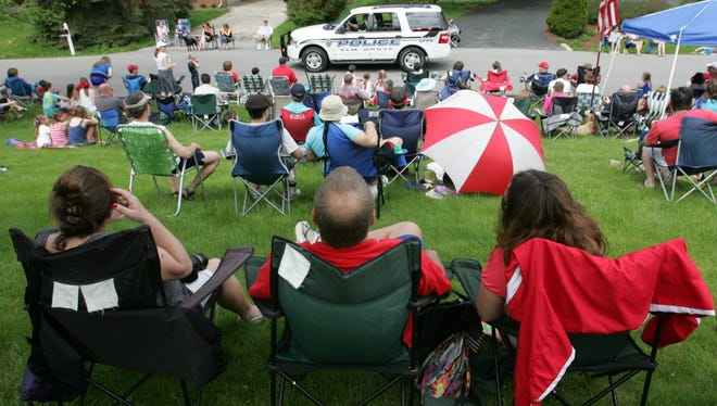 The Elm Grove Memorial Day parade starts at 10:30 a.m.at the Legion Drive entrance of Elm Grove Park.