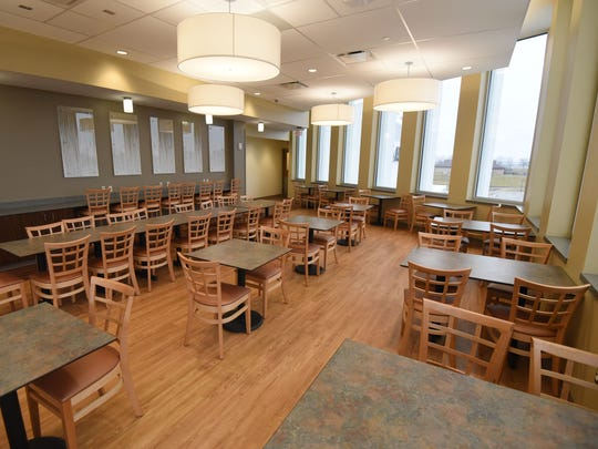 The old Lazurus Dining Hall has been transformed into