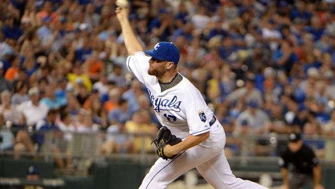 Wade Davis has posted a 1.01 ERA and has 67 strikeouts in 44 2/3 innings out of the Royals bullpen.
