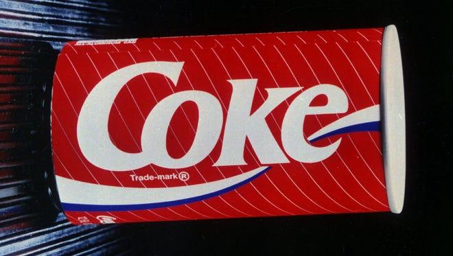 New Coke, shown in a 1987 file photo,