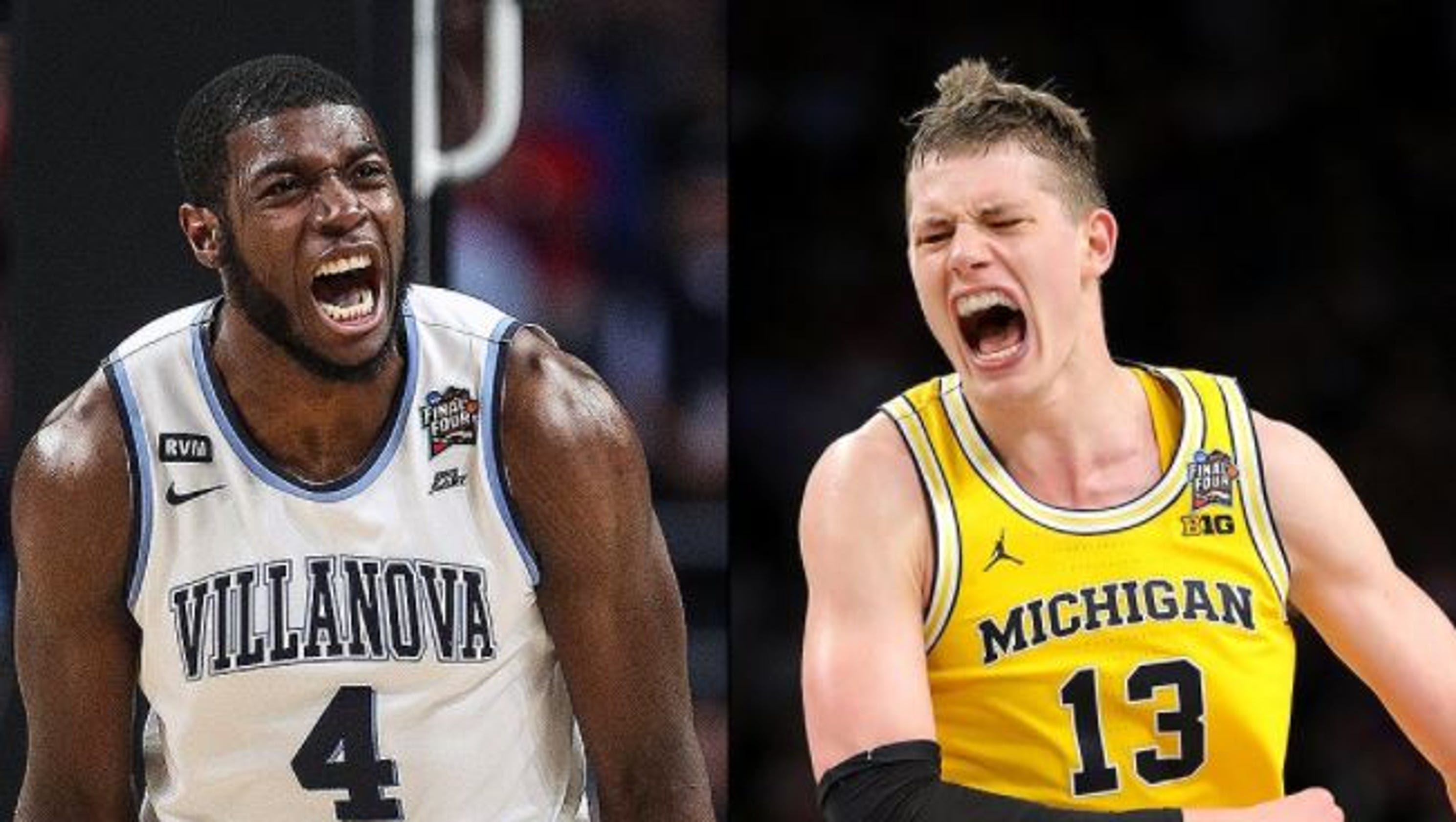 Image result for Michigan Wolverines vs Villanova Wildcats
