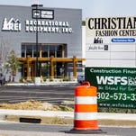 Seven stores and a restaurant have signed leases at the new Christiana Fashion Center, with most slated to open by the end of October.