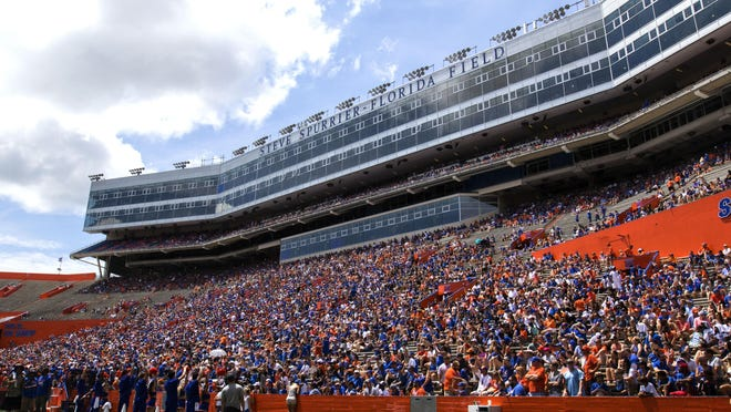 Florida plans to have reduced capacity for games at Ben Hill Griffin Stadium this season, and that will lead to reduced revenue.