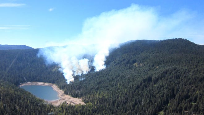 The Badger Lake Fire is out, but a patrol is out checking for hot spots and flare-ups.