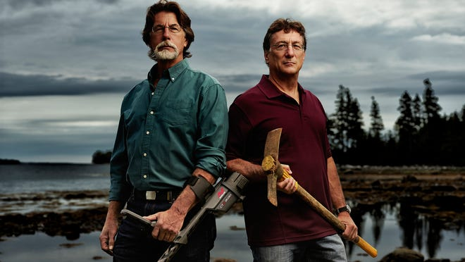"""In season two of the History channel's """"The Curse Of Oak Island,"""" brothers Rick, left, and Marty Lagina are ratcheting up their search for an elusive treasure in Canada."""