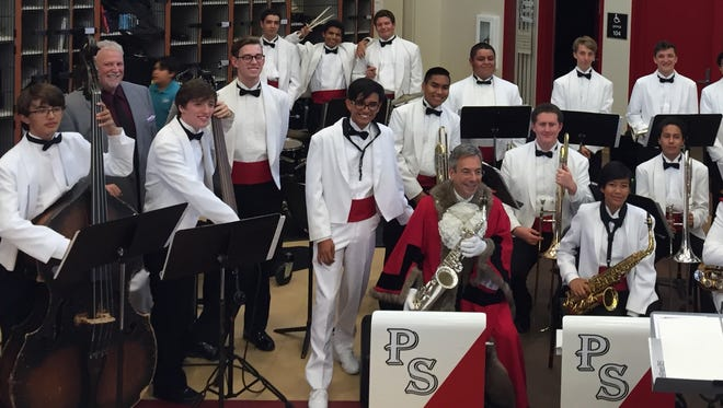 The Palm Springs High School Band is an active participate in school and community events and music programs.