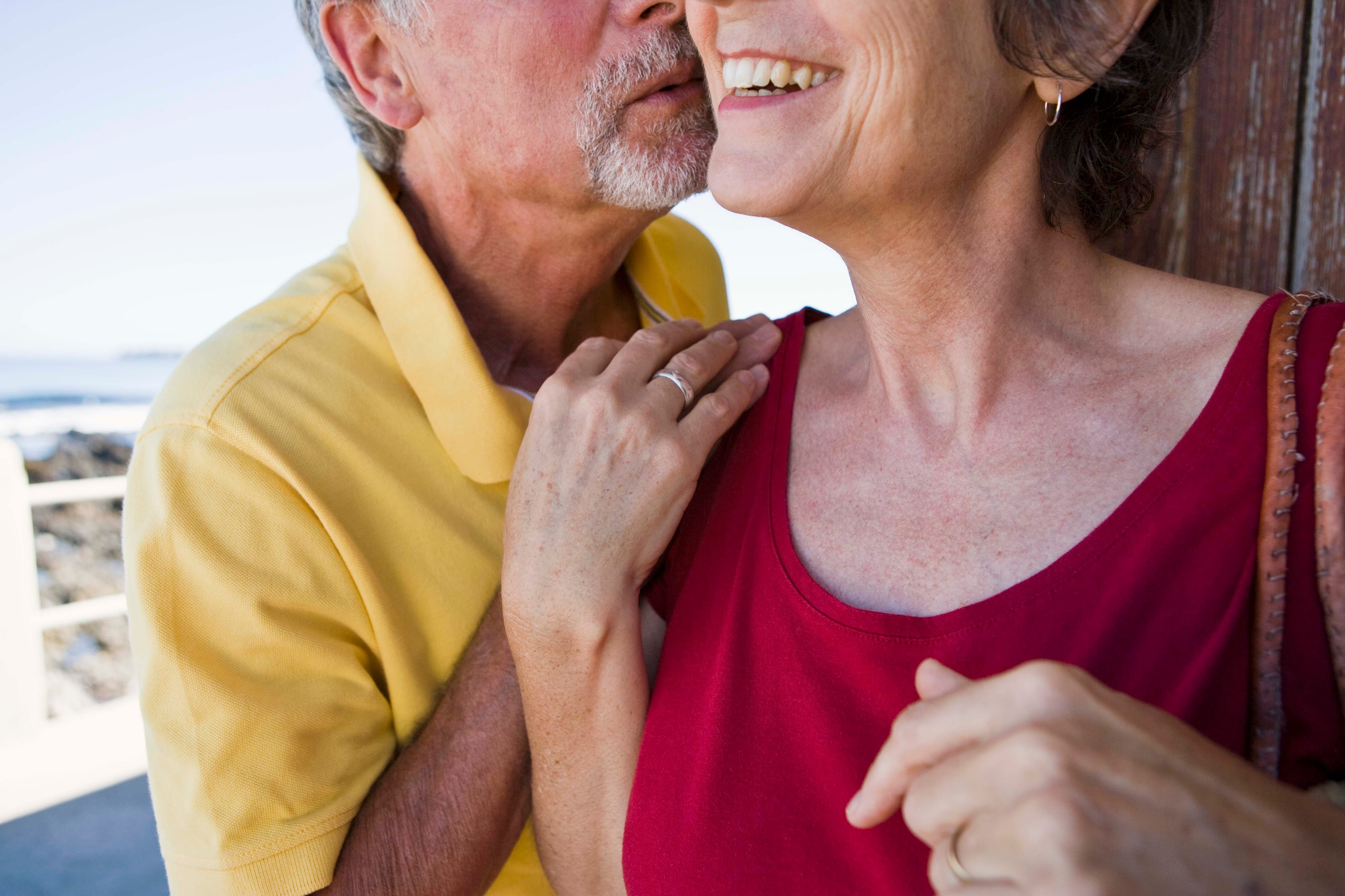 Older women actively involved in sex