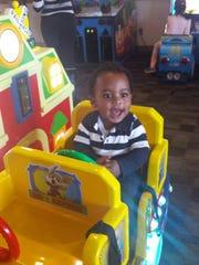 Kalix Mario-Montrell Maddox, Feb. 10, 2015. Son of Amber Foreman and Mario Maddox.