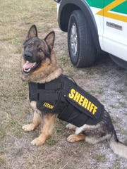 Titan joined the Montgomery County Sheriff's Office