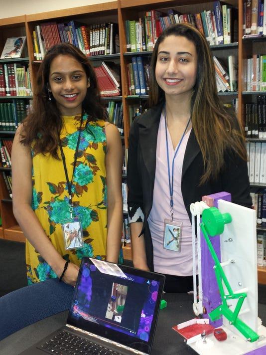 MCVTS Edison Academy Seniors projects