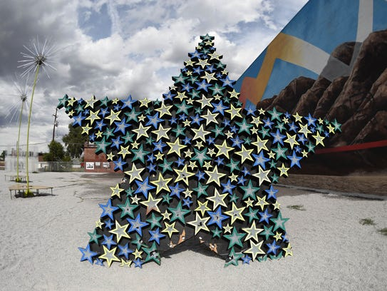 Burning Man Art -  StarWay