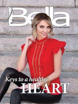 Bella Magazine front cover model: Tracy Jones.