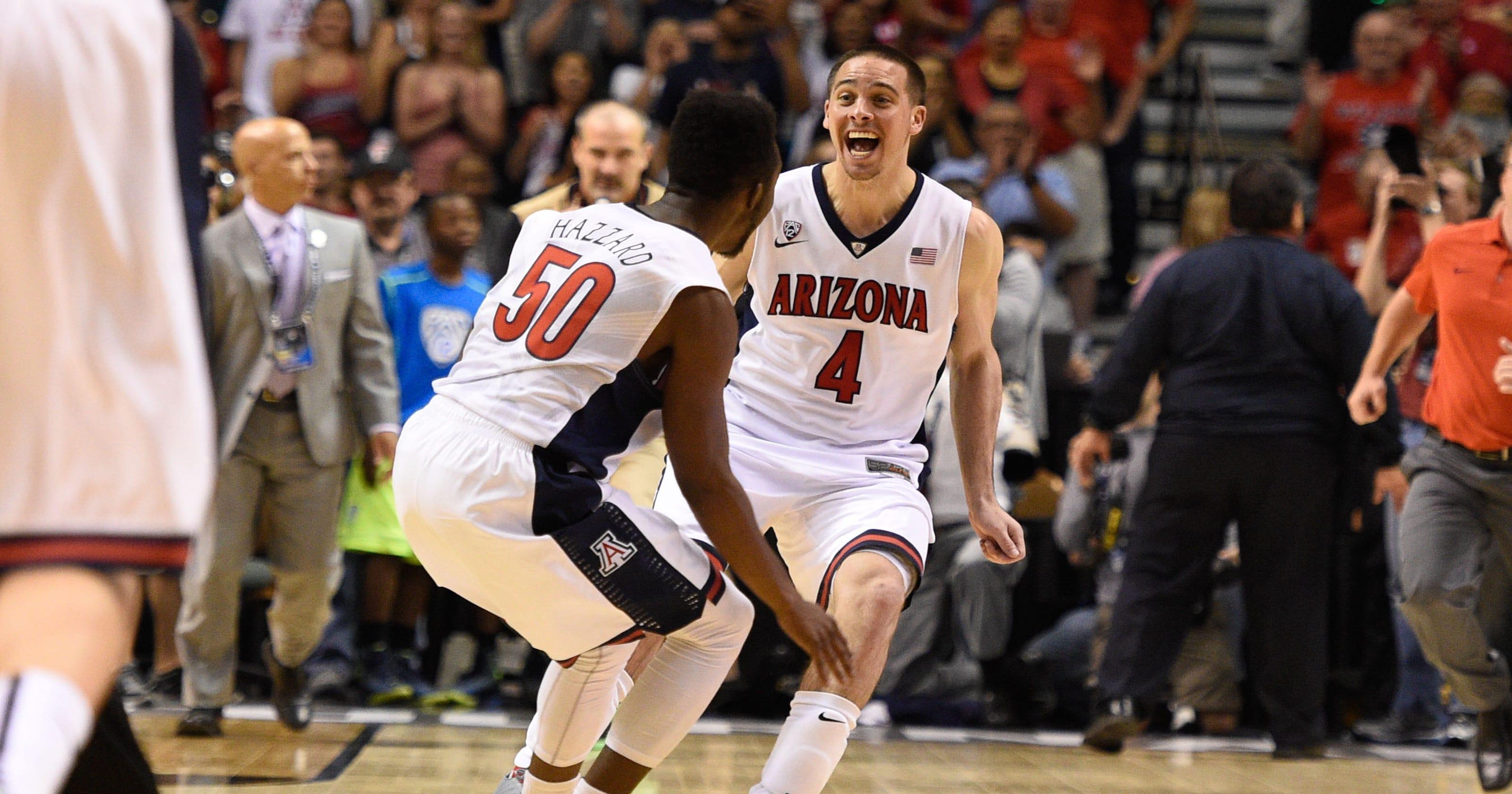 Arizona Men's Basketball Draws No. 2 Seed In West Region