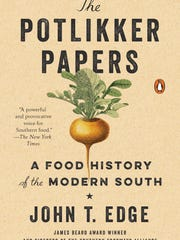 """Cover of """"The Potliokker Papers"""" by John T. Edge"""