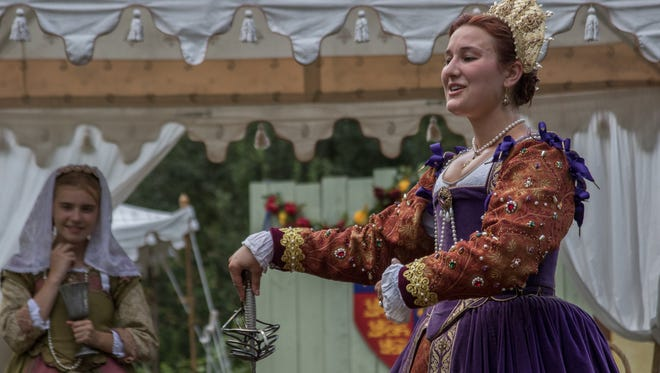Hundreds of brightly costumed performers entertain thousands of visitors at the annual Renaissance Faire in Tuxedo.  The Faire is a rollicking romp through Elizabethan England, set within the groves of Sterling Forest.