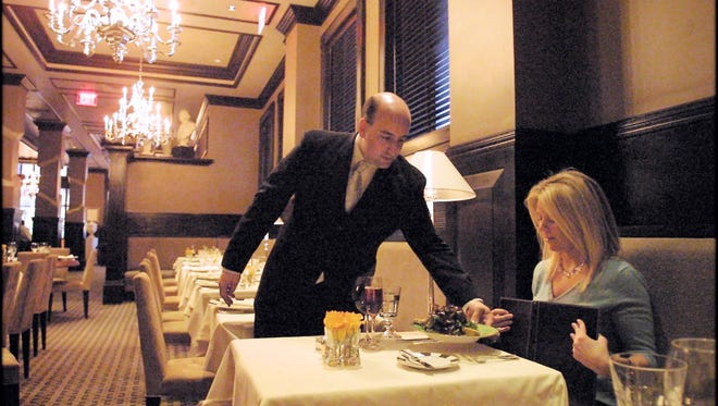 In a tight labor market, some restaurant general managers are being tapped for jobs overseeing banks and retail stores.