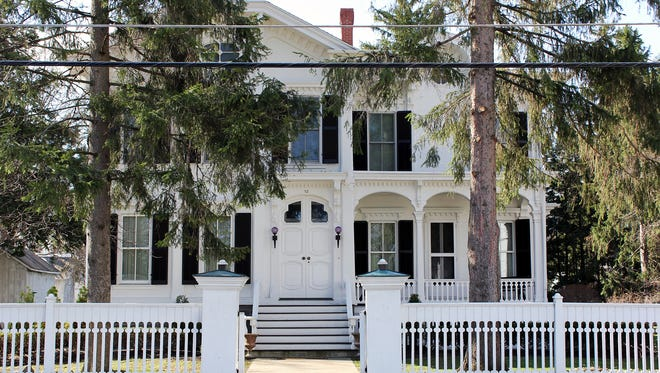 """The Gutchess House, formerly the property of the Senators Dwight, on the """"That Old House Tour""""."""""""