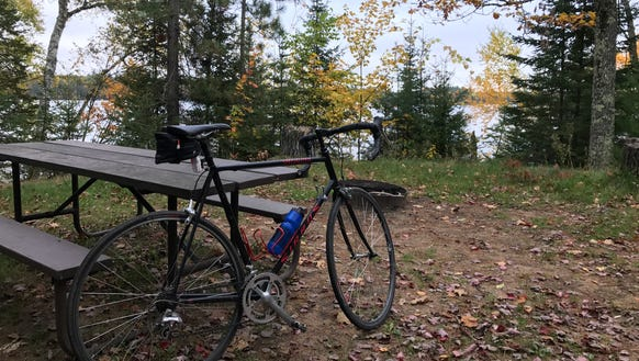 Fall in Wisconsin's Northwoods can't be beat for cycling.