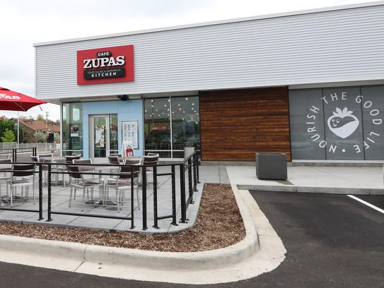 Cafe Zupas has opened at 8775 W. Sura Lane in the 84South