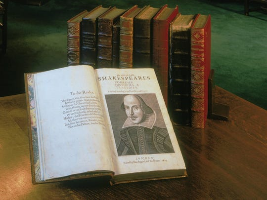 The Folger Shakespeare Library picked one place in each state to display the First Folio of Shakespeare's work.
