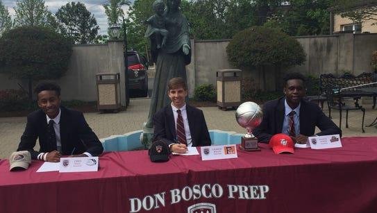 Three Don Bosco Prep basketball players made formal