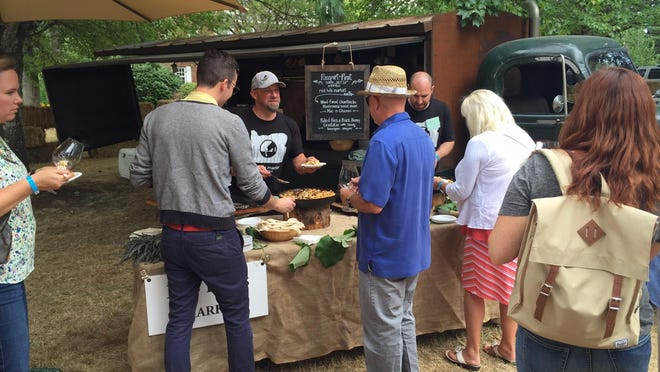 Red Hills Market was one of the food purveyors on hand, providing wild mushroom mac and cheese to IPNC attendees.