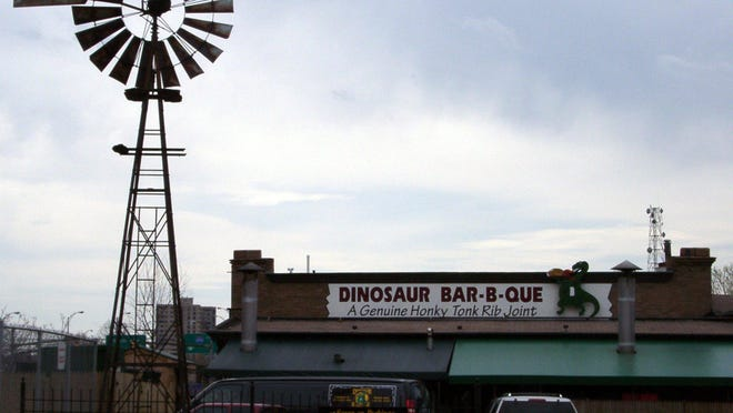 Dinosaur Bar-B-Que is at 99 Court St. in Rochester.