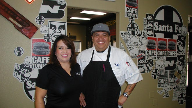 Tommy Chavez and his wife Vanessa offer contemporary American cuisine at their restaurant, Café Tommy, located just off Shirk Street in the industrial area west of Visalia.