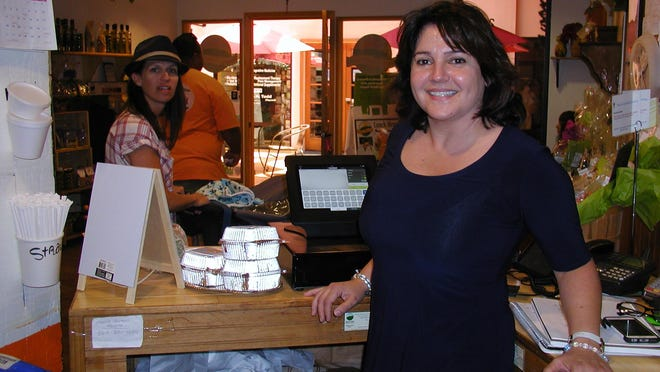 Owner Evelyne Vivies expanded the menu and seating of her Orange Valley Café to accommodate the increasing number of diners.