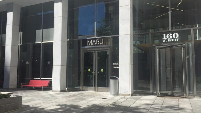 Maru Sushi & Grill opens in downtown Detroit Friday.
