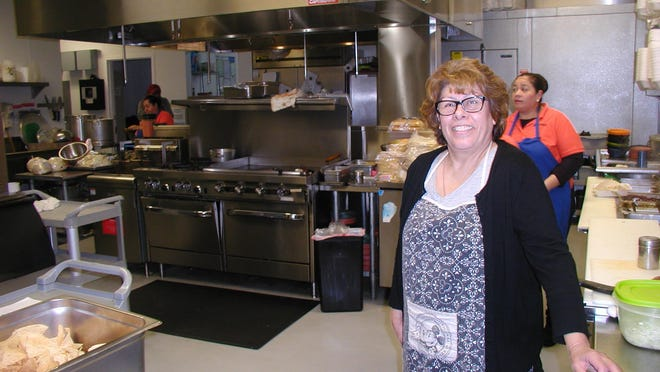 Martha Muniz enjoys the wide open spaces of her new kitchen, part of her recently-completed restaurant, Martha's Mexican Food.