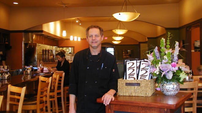 Karl Merten started Café 225 California Bar and Grill 21 years ago at a prime location, 225 W. Main Street near the Fox Theater