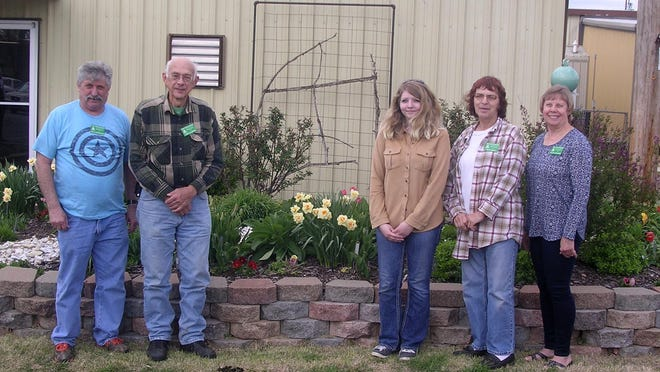 Six Baxter County residents recently completed Master Gardener training offered by the University of Arkansas Division of Agriculture Cooperative Extension Service. The group participated in a 40-hour training program, and each volunteer will donate 40 hours back to the Cooperative Extension Service in the areas of horticulture and ornamental horticulture within the next year. The group will meet monthly and work on community service projects throughout the coming year. New Master Gardeners are: (from left) Rick Gatewood, Toby Klassen, Emily Roberts, Mary Smith and Valerie VanZuiden. Not pictured: Ginger Turk. In 2016 the Baxter County Master Gardeners logged 4,659 volunteer hours back to the community. For more information on the Master Gardener program, call 425-2335.