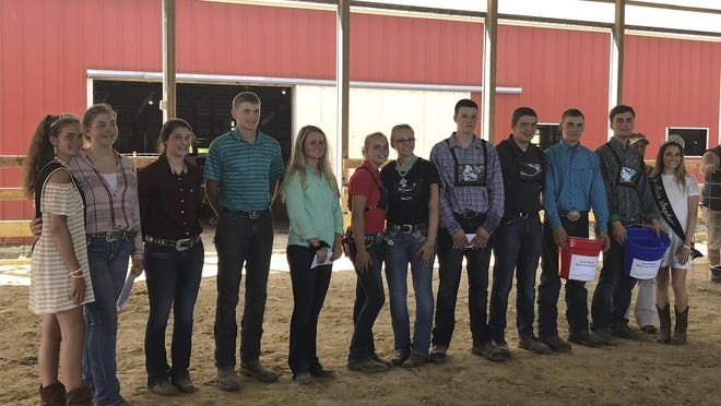 Members of Stephenson County's 4-H clubs gather during the 2019 Stephenson County Fair to receive awards for their projects they completed during several months of preparation. With the 2020 County Fair canceled, 4-H members and staff will turn to online shows to present their projects and get judge's feedback.