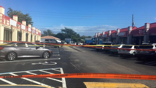 A male was shot to death at about noon Wednesday, Jan. 22, 2020, in the 1500 block of Prosperity Farms Road.