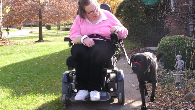 Susan Koller, a board member for Disability Rights Ohio.