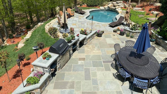 On The Spot Home Improvements has seen an increase in its revenue, as folks reroute their vacation money to pay for pool installations and more.