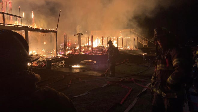 Multiple fire crews went to a multi-home fire on Ocean Isle Beach early Thursday morning.