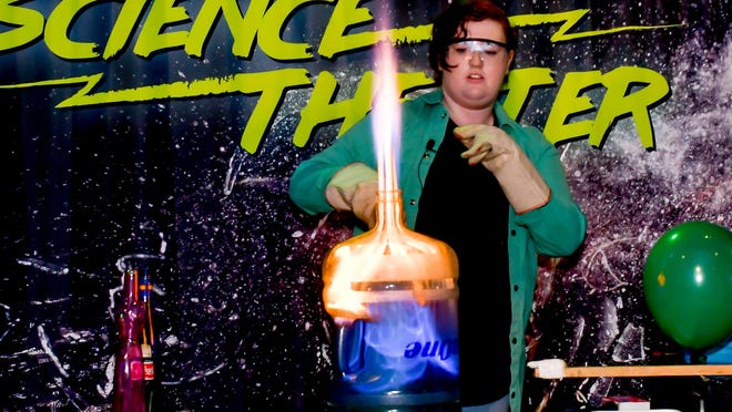 Exploring the science of fire and sound at Celebrate The USA at the Don Harrington Discovery Center.