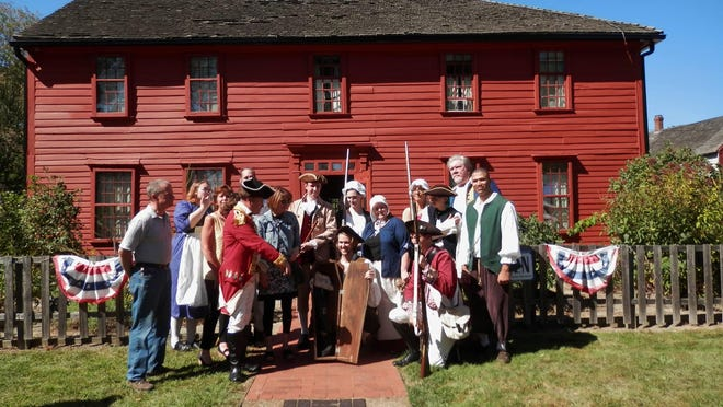 "Benedict Arnold's ""heroic leg"" is presented at the Leffingwell House Museum in Norwich. The annual Benedict Arnold Returns ceremony is scheduled to take place from 11 a.m. to 4 p.m. on Saturday."