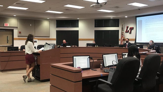 Dozens of students spoke at a board meeting Wednesday night requesting the school board make better accommodations for teachers who requested remote learning.