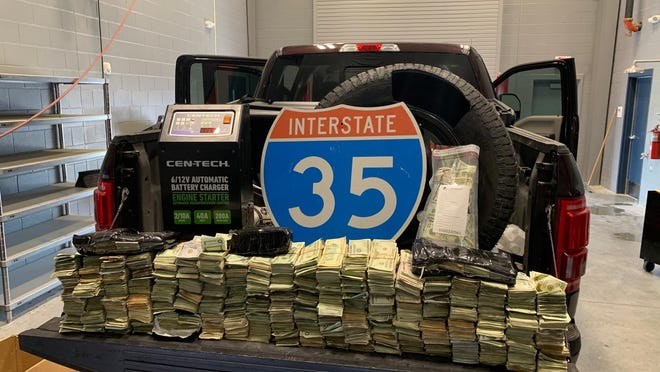 An investigation headed by the Drug Enforcement Administration (DEA) and the Robstown Police Department (RPD), resulted in an traffic stop of a suspected drug trafficker in Williamson County, on Sept., 16.