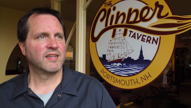 Jeff Goss, co-owner of the Clipper Tavern, said they reopened Saturday after meeting the COVID-19 guideline requirements of the city of Portsmouth.