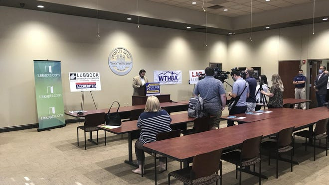 The Lubbock Chamber of Commerce hosted a news conference Wednesday to speak in support of Frenship's bond election.
