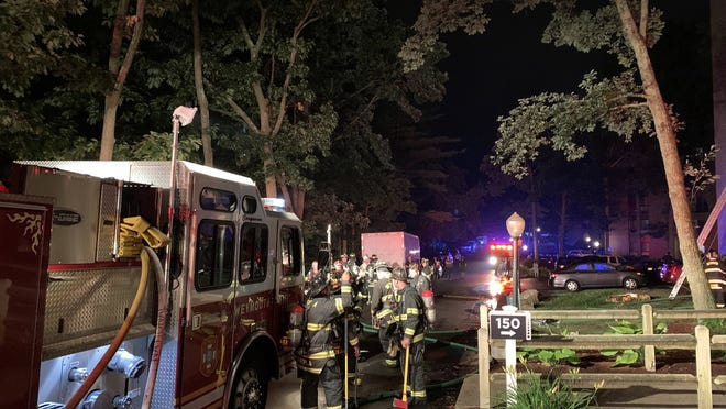 One person is dead after a fire broke out overnight at an apartment building at 150 Mediterranean Drive.
