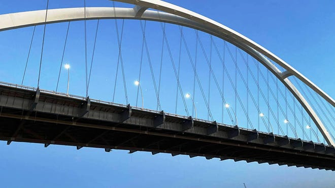 The new I-74 Mississippi River Bridge at the Quad Cities opened Friday morning, at least in part.
