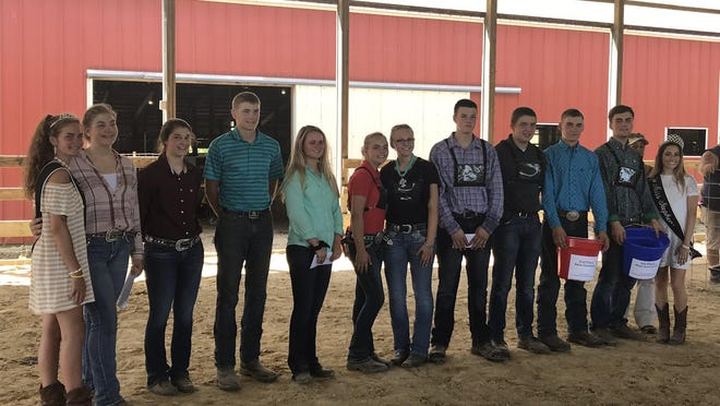 Members of Stephenson County's 4-H clubs gather at the 2019 County Fair to receive awards for their projects they completed during several months of preparation. With the County Fair canceled this year, 4-H members and staff will turn to online shows to present their projects and get judge's feedback.